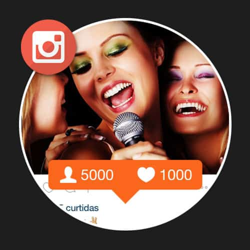 Seguidores e Curtidas para Instagram
