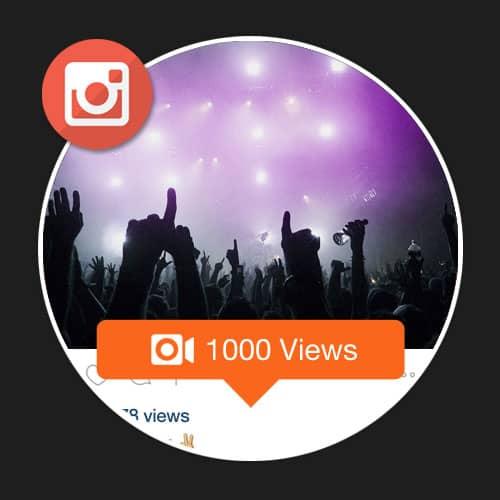 1000 Visualizações Instagram