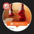 5000 Visualizações para Vídeos Instagram
