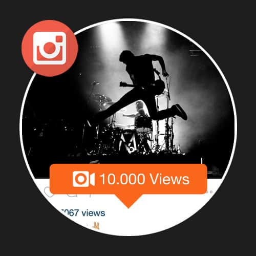 10000 mil Views Instagram