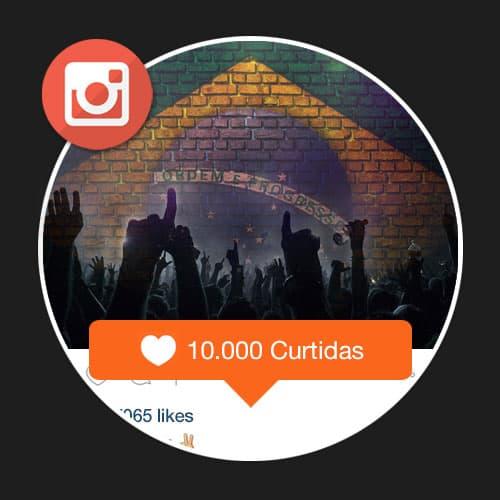 10.000 Curtidas Brasileiras Reais Instagram