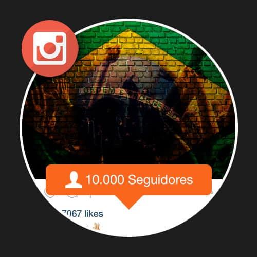 10 mil seguidores reais brasileiros para Instagram