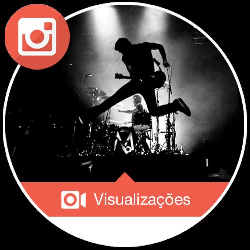Visualizações Instagram