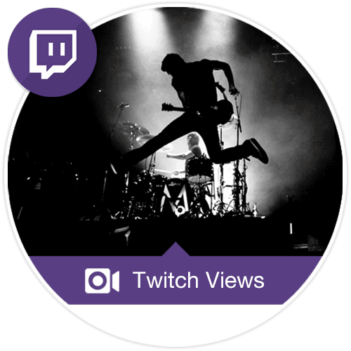 Visualizações para Twitch